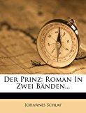 Prinz Roman in Zwei B?nden... 2012 9781279891995 Front Cover